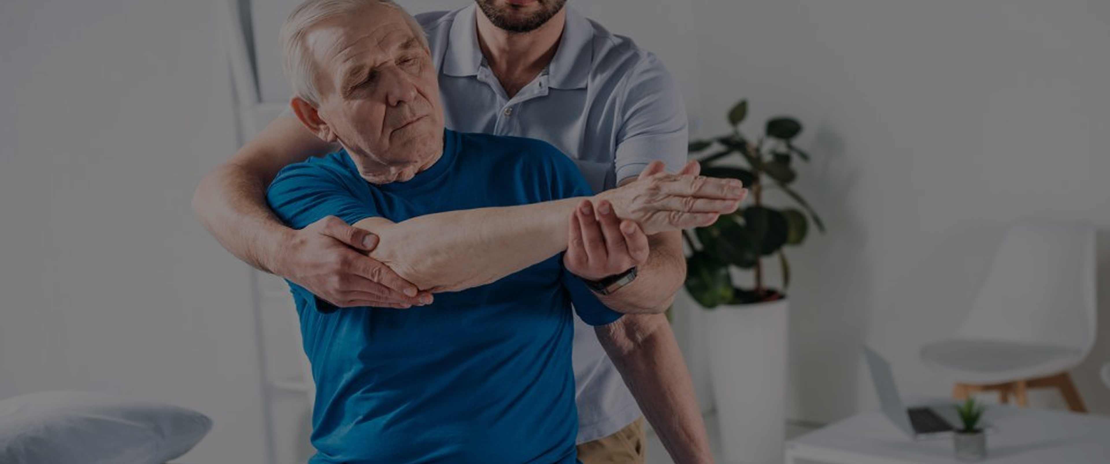 فیزیوتراپی سالمندان در منزل